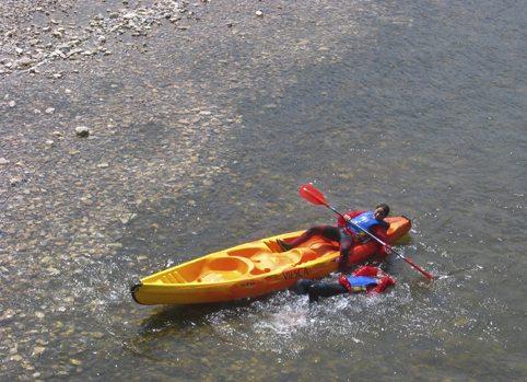 caida-canoa-rio-sella-asturias-actividad